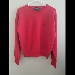 Vintage Ralph Lauren Red Sweater Size Large
